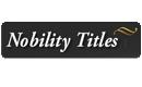Nobility Titles – Títulos nobiliarios